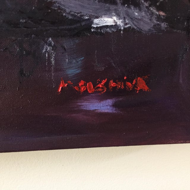 2020s Original Oil Painting of a Black Woman Curiosity of Beauty by Marina Movshina For Sale - Image 5 of 7