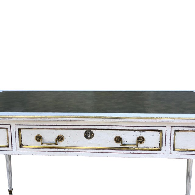 Wood 19th Century Gustavian Writing Desk For Sale - Image 7 of 10