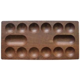 Vintage Skodje Skern Wooden Kahala Game Board For Sale