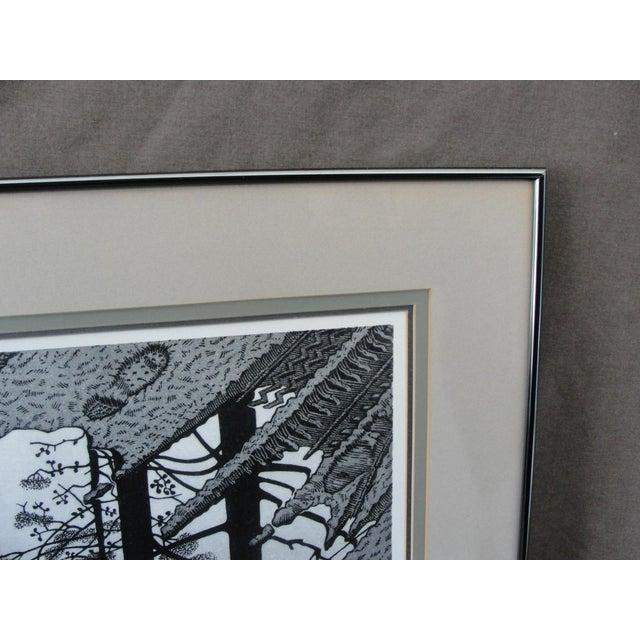 Escher Vintage 'Puddle' Print by M.C. Escher For Sale - Image 4 of 8