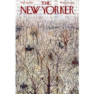 1960 New Yorker Cover, March 19 (Garrett Price), Horseback Riding For Sale