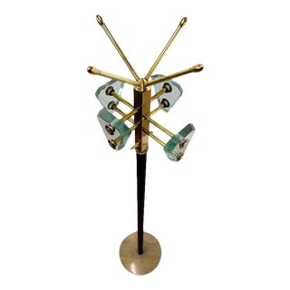Style of Fontana Arte Mid-Century Coat Stand For Sale