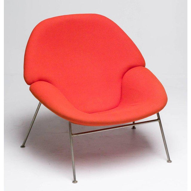 Pierre Paulin F555 Lounge Chair For Sale - Image 6 of 8