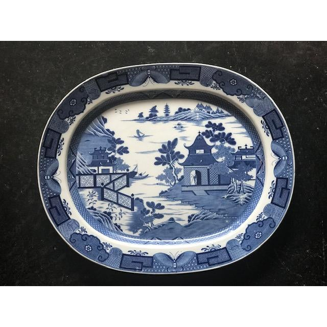 Mid 19th Century 19 Century Vintage English Platter For Sale - Image 5 of 5