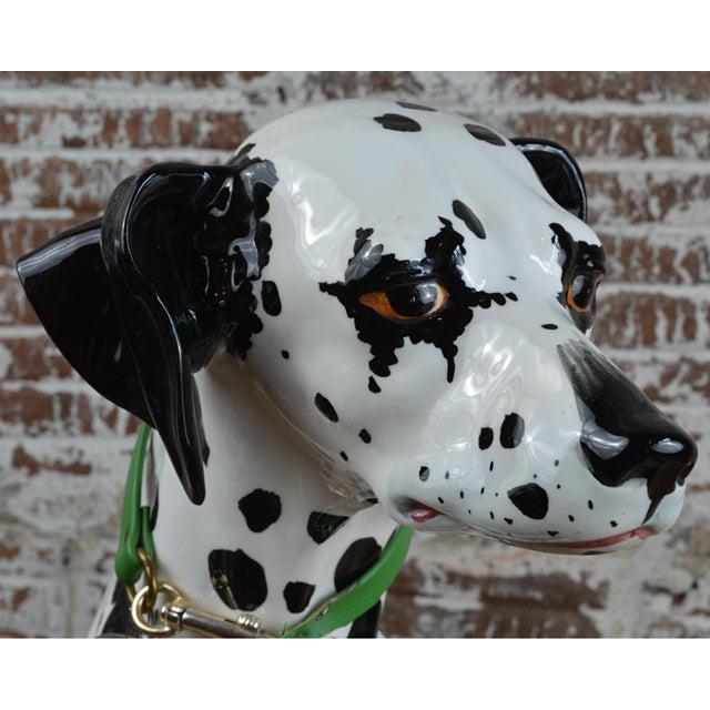 Vintage 1960s Ceramic Dalmatian Dog Figure For Sale - Image 9 of 13