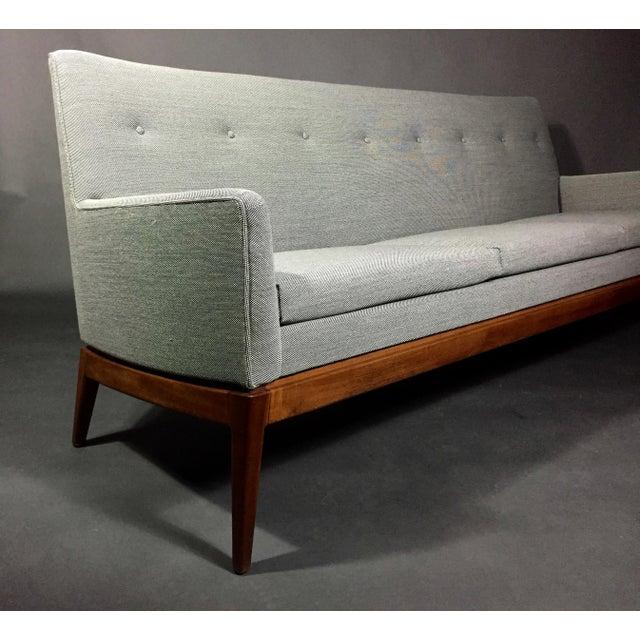 Gray Jen Risom 1950s American Modern 3-Seat Sofa For Sale - Image 8 of 10