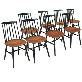 Ilmari Tapiovaar Mid-Century Dining Chairs - Set of 8