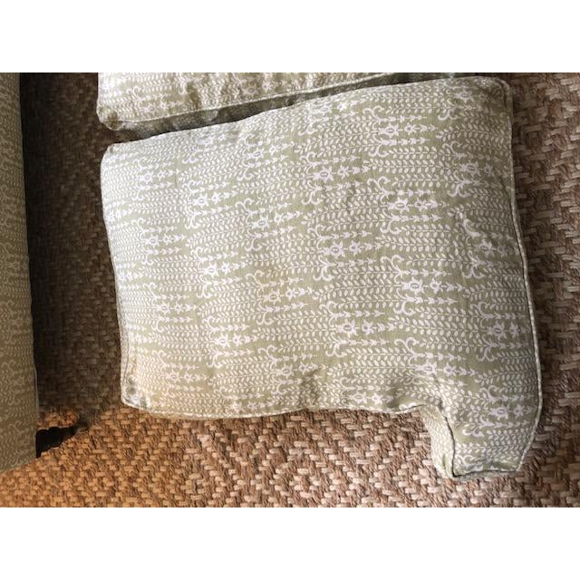 Modern George Smith Sofa For Sale - Image 10 of 13