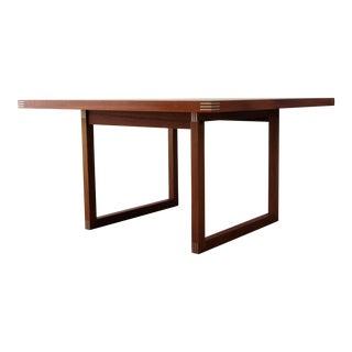 1960s Danish Modern Rud Thygesen for Heltborg Møbler Teak Coffee Table For Sale