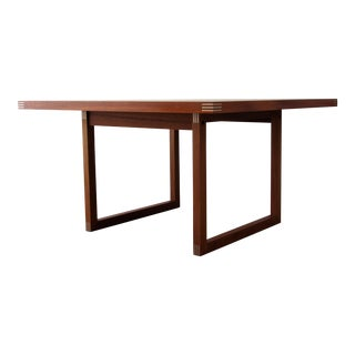 Mid Century Modern Danish Teak Coffee Table by Rud Thygesen for Heltborg Møbler For Sale