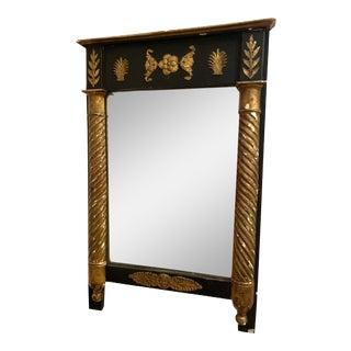 Circa 1800-1820s Antique Federal Gilt Mirror For Sale