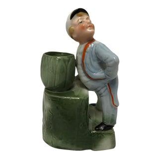 Antique Match Striker Figurine For Sale