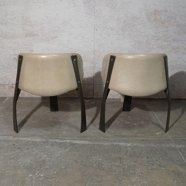 White Pod Dining Chair For Sale - Image 8 of 10