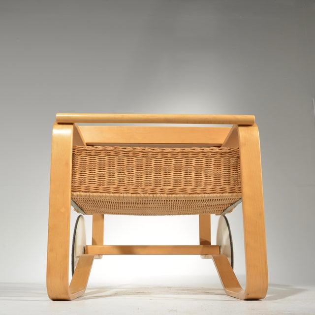 Alvar Aalto for Artek Tea Cart Model 900 For Sale - Image 11 of 13