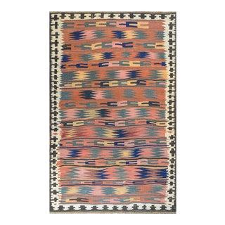 Vintage Vintage Bashir Kilim Rug For Sale