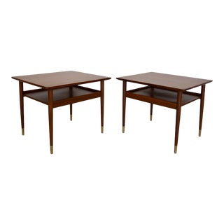 1950s Danish Modern End Tables - a Pair For Sale