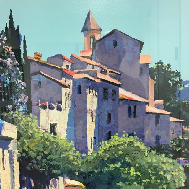 "Howard Behrens ""Old World Charm"" Framed Serigraph For Sale - Image 4 of 8"