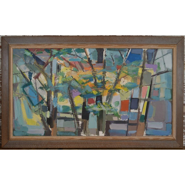 Mid 20th Century Abstract Expressionist Painting by Armando Del Cimmuto For Sale - Image 13 of 13