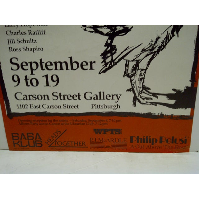 The Artists of Athens Carson Street Gallery Pittsburgh PA Poster - Image 5 of 5
