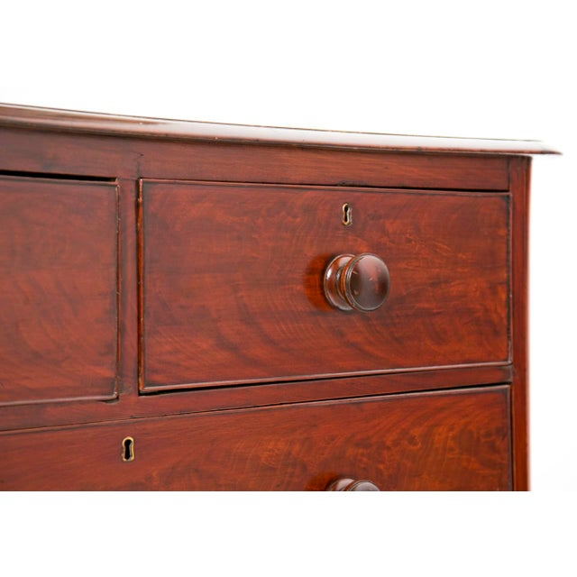 19th Century English Victorian Mahogany Chest For Sale In San Francisco - Image 6 of 9