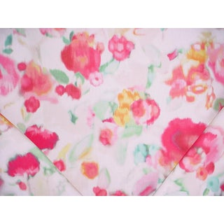 Cottage Kravet Kate Spade Floral Haze Meadow Watercolor Floral Upholstery Fabric - 3-5/8y For Sale