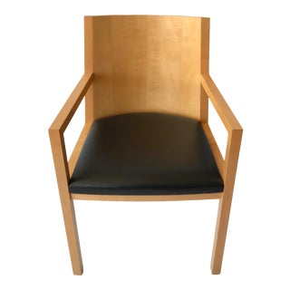 1980s Vintage Ward Bennett Side Chair For Sale