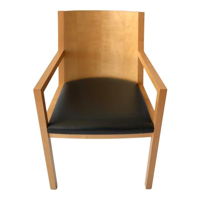 1980s Vintage Ward Bennett Side Chair For Sale