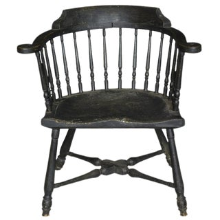 Maple Low-Back Windsor Armchair