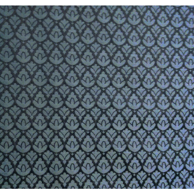 """1 yard + 13"""" available of this fabric. It's 55"""" wide, made in Italy. It was used to make two custom lamp shades, and this..."""