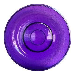 Gunnar Cyren for Dansk Ultraviolet Serving Bowl For Sale