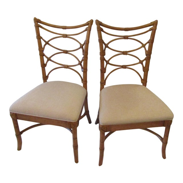 Tommy Bahama Sanibel Side Chairs - A Pair For Sale