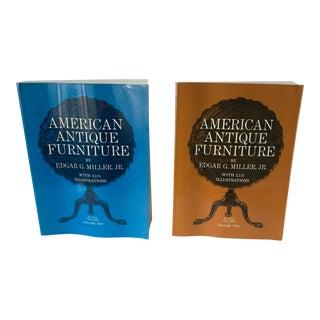 American Antique Furniture Books Vol I & II - a Pair For Sale