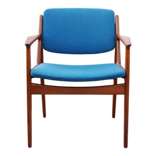 1960s Vintage Arne Vodder Ella Desk Arm Chair For Sale