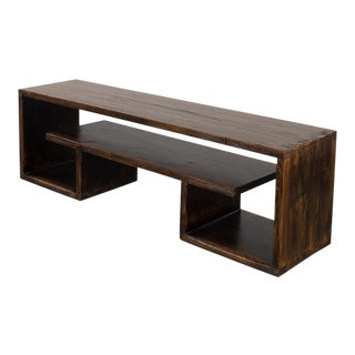 Asian Modern Pine Coffee Table