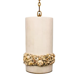 Century Furniture Victorian Shell Work Pendant For Sale
