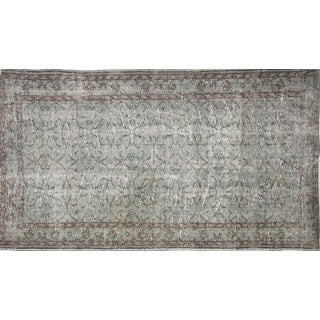 "Nalbandian - 1960s Overdyed Turkish Rug - 5'4"" X 9'4"" For Sale"