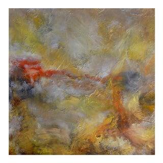 """""""Manifestation (#6 in Series) """" Original Abstrast Landscape Painting For Sale"""