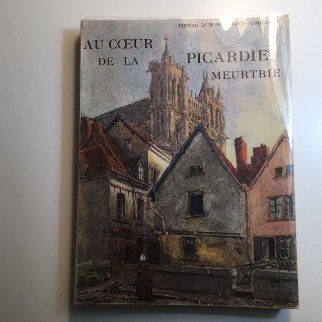 1943 Au Coeur De La Picardie Meurtrie Scarce Book For Sale - Image 11 of 11