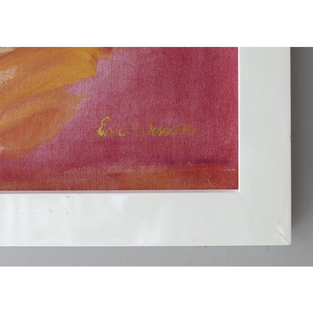 Abstract Abstract Modern Painting by Eve Wasser For Sale - Image 3 of 10
