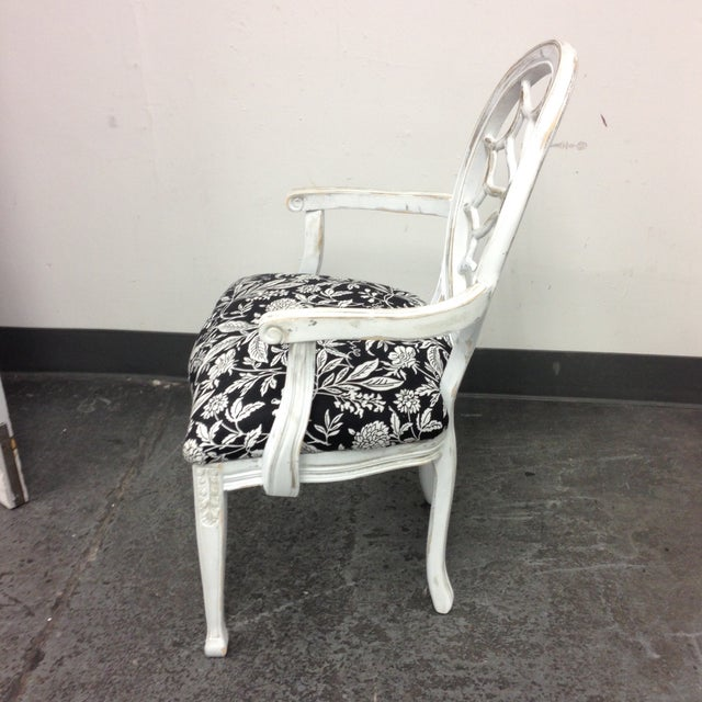 John Widdicomb Medallion Arm Chair - Image 4 of 10