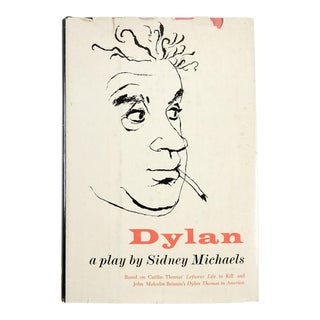 """Sidney Michaels """"Dylan: A Play"""" Book"""