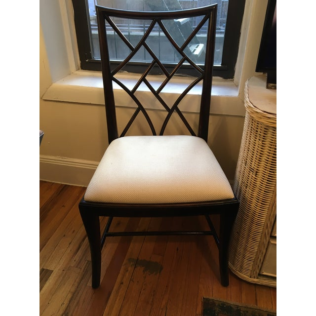 Lillian August Modern Lillian August Chippendale Side Chair For Sale - Image 4 of 4