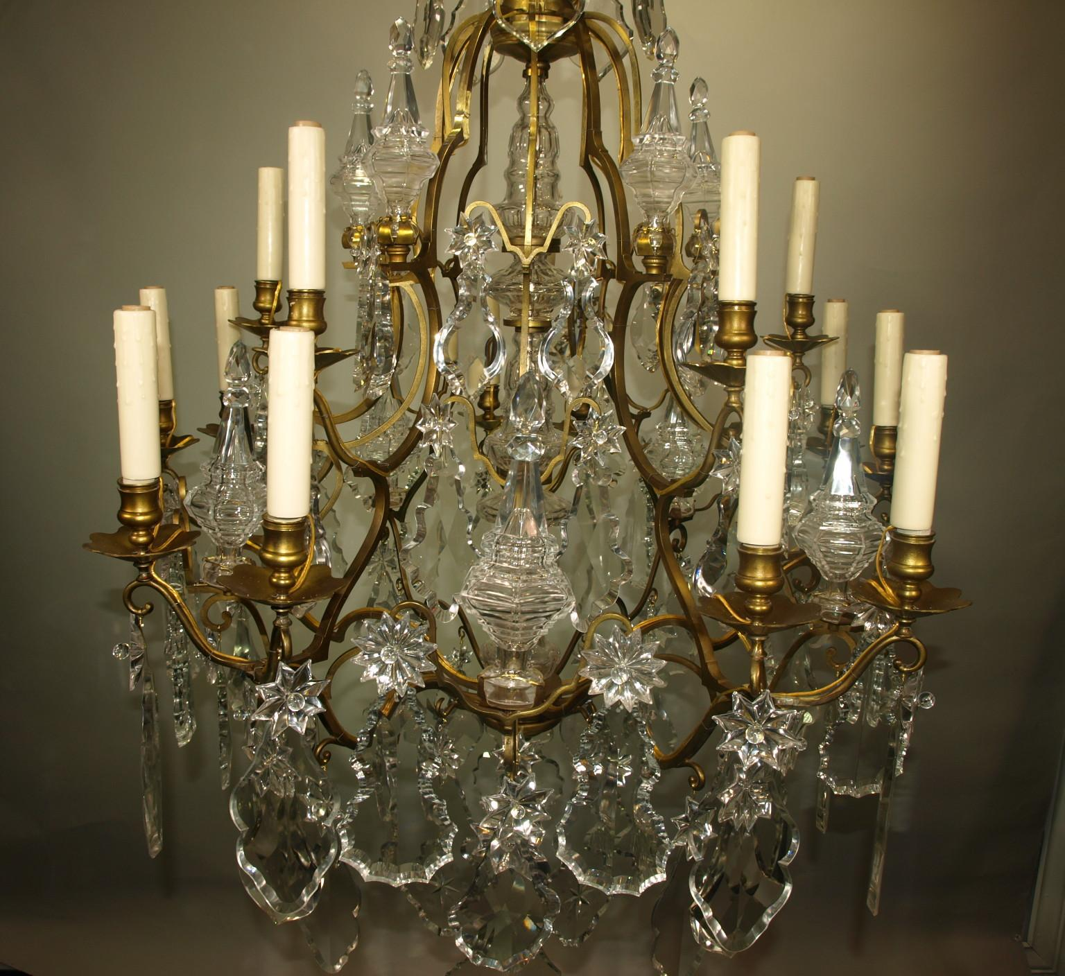 Antique Chandelier Baccarat - Image 6 of 8 : baccarat lighting - www.canuckmediamonitor.org