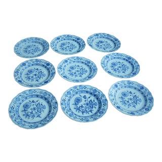 Antique Meissen Dinner Plates - Set of 7