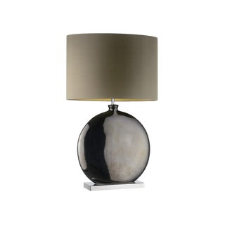 Valencia Pewter Medium Table Lamp For Sale