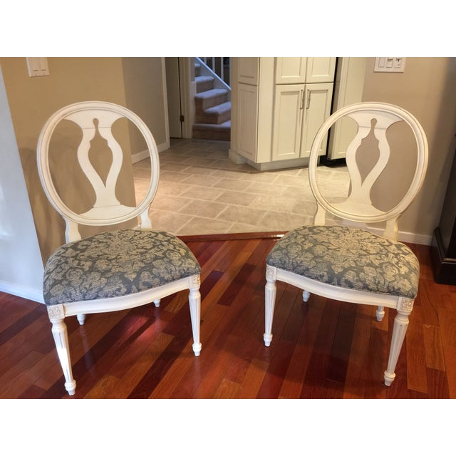 Ethan Allen Ethan Allen Avery Style Dining Table For Sale - Image 4 of 6