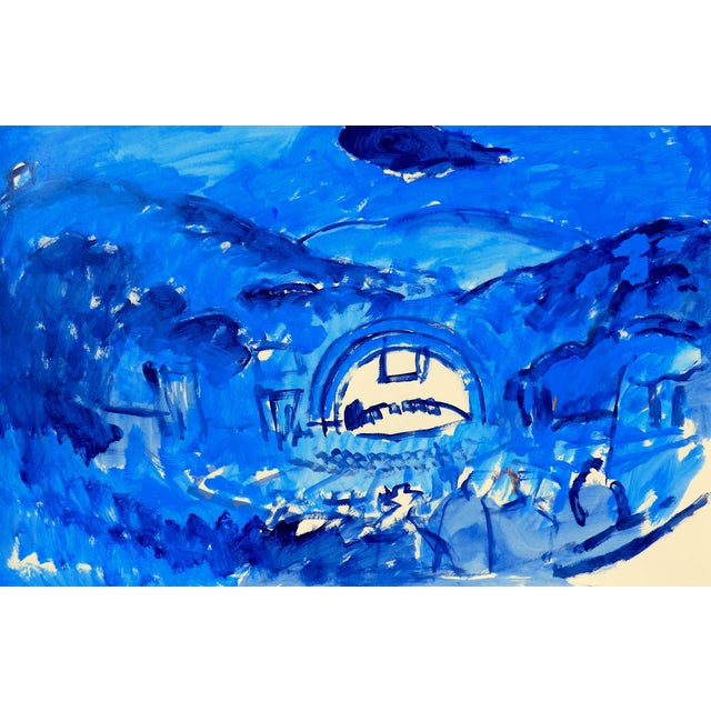 Hollywood Bowl Summer Night Concert Painting - Image 1 of 5