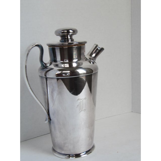 """Art Deco Art Deco Drink Pitcher with Initial """"D"""" For Sale - Image 3 of 11"""