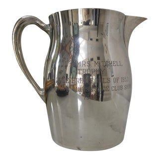 Equestrian Trophy Pitcher