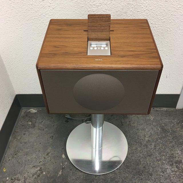 Geneva Lab Walnut and Chrome Sound System - Image 4 of 7